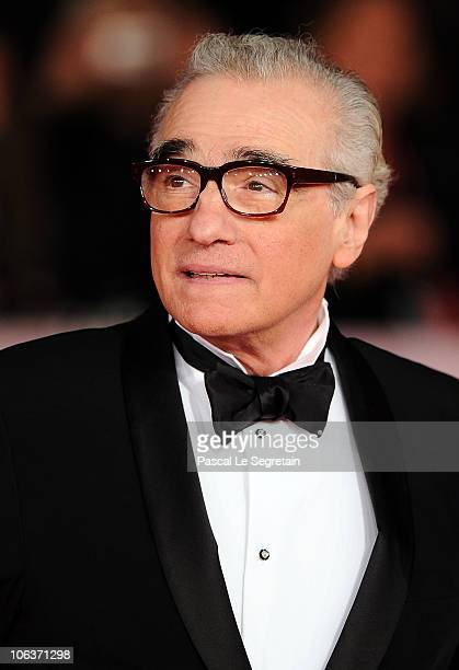 Director Martin Scorsese attends the La dolce vita world restoration premiere during The 5th International Rome Film Festival at Auditorium Parco...