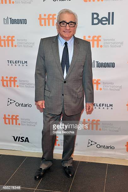 Director Martin Scorsese attends the Mavericks Conversation with The 50 Year Argument with Director Martin Scorsese 2014 Toronto International Film...