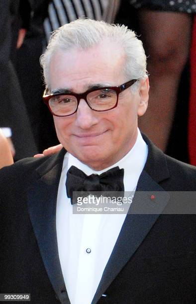 Director Martin Scorsese attends the Premiere of 'Wall Street Money Never Sleeps' held at the Palais des Festivals during the 63rd Annual...