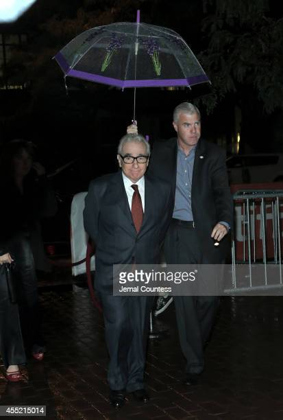 Director Martin Scorsese attends the Revenge Of The Green Dragons premiere during the 2014 Toronto International Film Festival at Ryerson Theatre on...