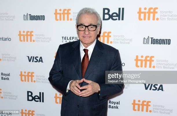 Director Martin Scorsese attends the 'Revenge Of The Green Dragons' premiere during the 2014 Toronto International Film Festival at Ryerson Theatre...