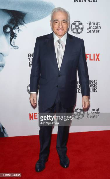 Director Martin Scorsese attends the Rolling Thunder Revue A Bob Dylan Story By Martin Scorsese New York screening at Alice Tully Hall Lincoln Center...