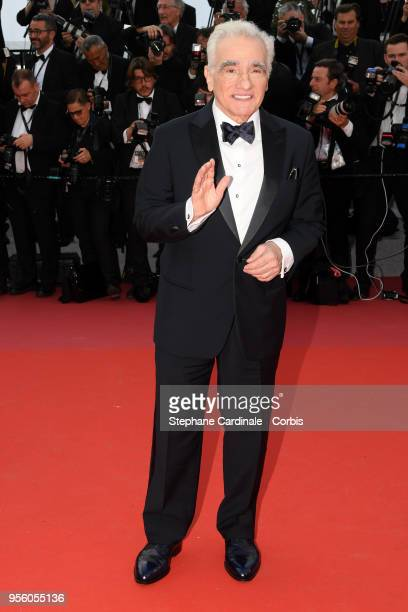 Director Martin Scorsese attends the screening of Everybody Knows and the opening gala during the 71st annual Cannes Film Festival at Palais des...