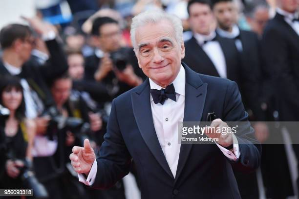 "Director Martin Scorsese attends the screening of ""Everybody Knows "" and the opening gala during the 71st annual Cannes Film Festival at Palais des..."