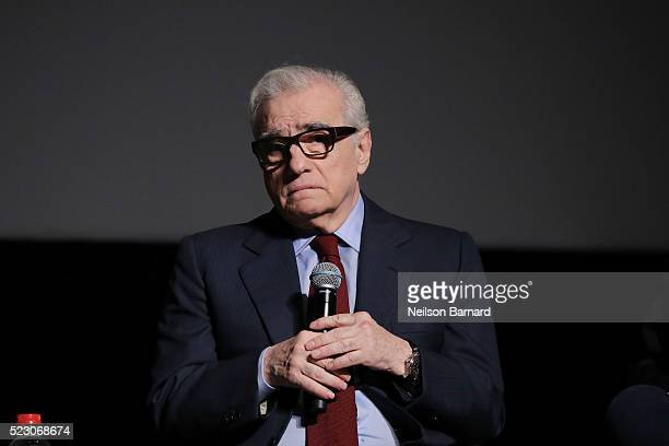 Director Martin Scorsese attends the 'Taxi Driver' 40th anniversary screening during the 2016 Tribeca Film Festival at Beacon Theatre on April 21...