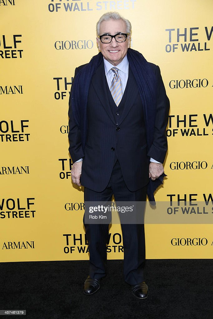 Director Martin Scorsese attends the 'The Wolf Of Wall Street' premiere at Ziegfeld Theater on December 17, 2013 in New York City.