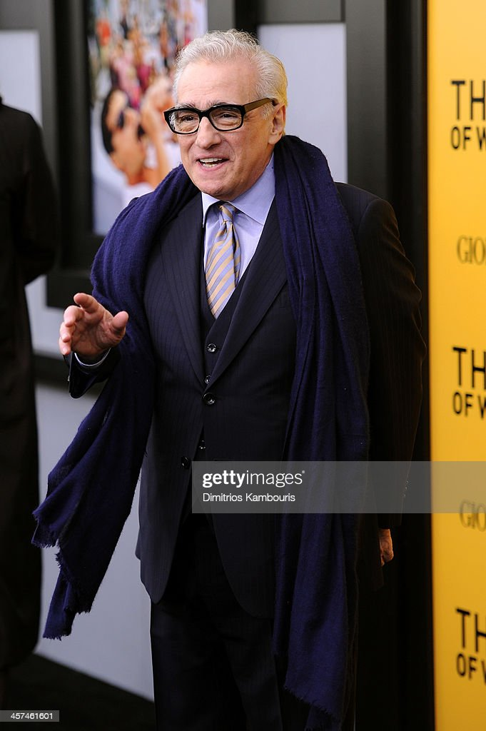 Director Martin Scorsese attends the 'The Wolf Of Wall Street' premiere at the Ziegfeld Theatre on December 17, 2013 in New York City.