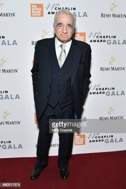 Director Martin Scorsese backstage during the 44th Chaplin Award Gala at David H Koch Theater at Lincoln Center on May 8 2017 in New York City