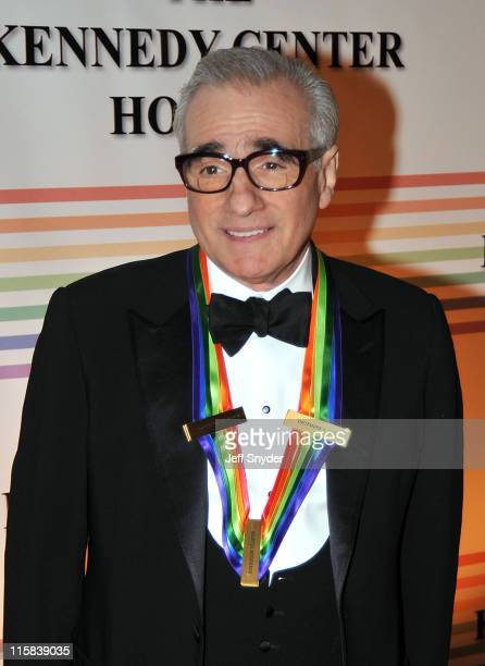Director Martin Scorsese honoree arriving at The 30th Kennedy Center Honors on December 2 in Washington DC The 2007 honorees are pianist Leon...