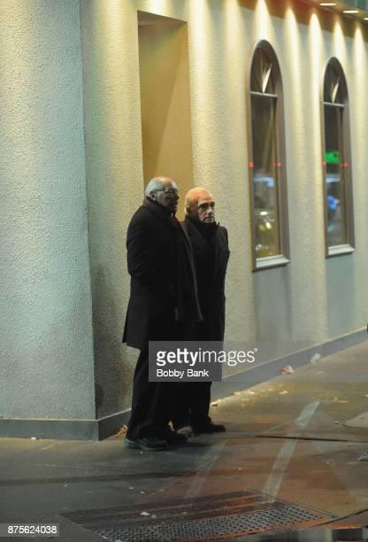 Director Martin Scorsese on the set of 'The Irishman' on November 17 2017 in New York City