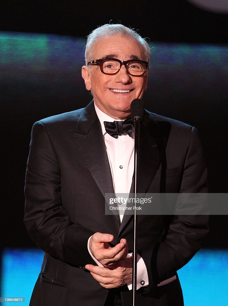 Director Martin Scorsese onstage during the 17th Annual Critics' Choice Movie Awards held at The Hollywood Palladium on January 12, 2012 in Los Angeles, California.