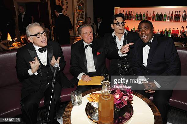 Director Martin Scorsese Regis Philbin Johnny Depp and Tracy Morgan attend Spike TV's 'Don Rickles One Night Only' on May 6 2014 in New York City