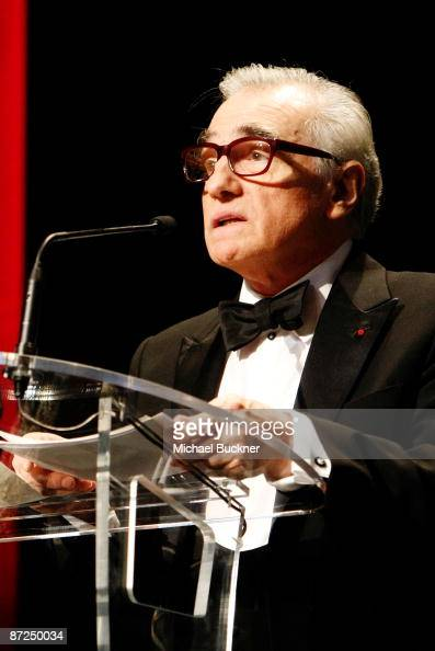 Director Martin Scorsese speaks during the ITV Global Entertainment