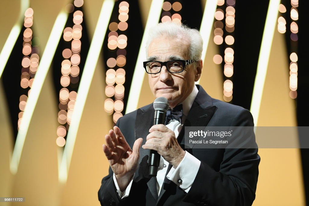 Director Martin Scorsese speaks onstage at the Opening Ceremony during the 71st annual Cannes Film Festival at Palais des Festivals on May 8, 2018 in Cannes, France.