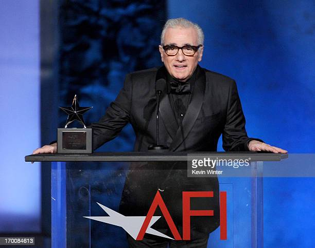Director Martin Scorsese speaks onstage during the 41st AFI Life Achievement Award Honoring Mel Brooks at Dolby Theatre on June 6 2013 in Hollywood...