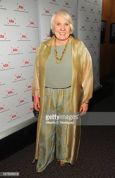 Director Mary Ann Smothers Bruni arrives at the International Documentary Association's 26th annual awards ceremony at the Directors Guild Of America...