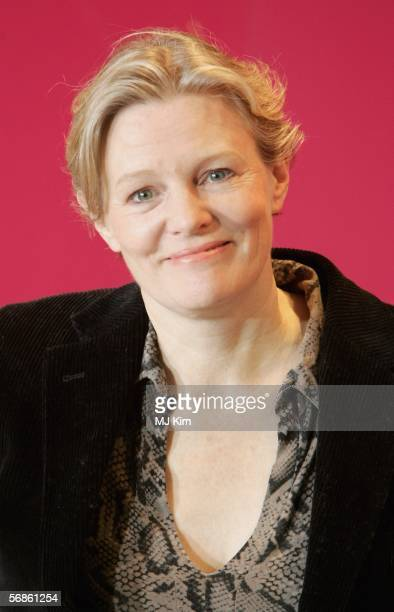Director Mary Harron attends the photocall of The Notorious Bettie Page during the 56th Berlin International Film Festival on February 16 2006 in...