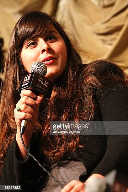 Director Maryam Keshavarz at Film Independent Screening Series 'Cassavetes' Shadow' held at The Bing Theatre At LACMA on January 12 2012 in Los...