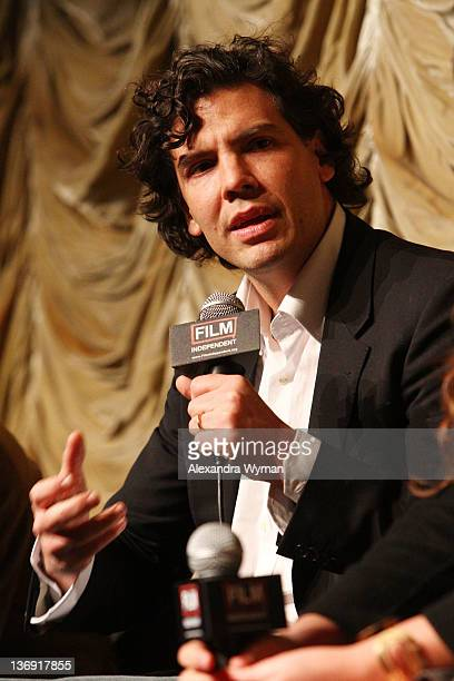 Director Mathew Gordon at Film Independent Screening Series 'Cassavetes' Shadow' held at The Bing Theatre At LACMA on January 12 2012 in Los Angeles...