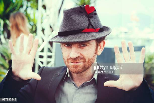 Director Mathias Malzieu attends a photocall for 'Talents Adami Cannes' during the 69th annual Cannes Film Festival on May 17 2016 in Cannes France