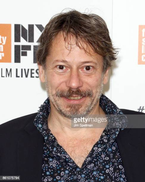 Director Mathieu Amalric attends the 55th New York Film Festival 'Ismael's Ghosts director's cut' at Alice Tully Hall on October 13 2017 in New York...