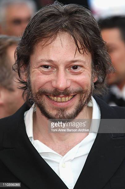 Director Mathieu Amalric attends the Palme d'Or Closing Ceremony held at the Palais des Festivals during the 63rd Annual International Cannes Film...