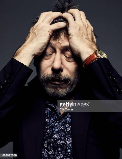 Director Mathieu Amalric of 'Ismael's Ghosts' poses for a portrait at the 55th New York Film Festival on October 13 2017