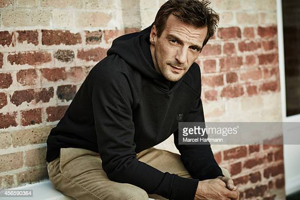 Director Mathieu Kassovitz is photographed for Self Assignment on September 28, 2014 in Paris, France.