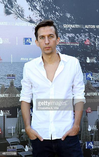 Director Matias Bize attends a photocall for The Memory Of Water' during the 72nd Venice Film Festival at Villa degli Autori on September 7 2015 in...