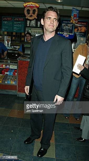 Director Matt Dillon wearing John Varvatos during 'City of Ghosts' Premiere at Clearview Chelsea West Cinema in New York City New York United States