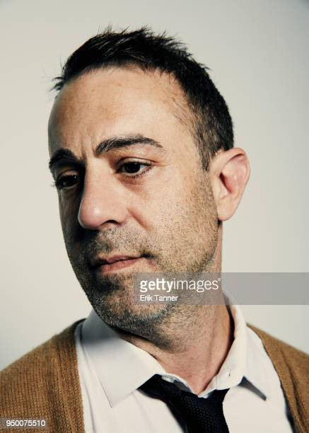 Director Matt Ogens of the film HOME AWAY poses for a portrait during the 2018 Tribeca Film Festival at Spring Studio on April 22 2018 in New York...