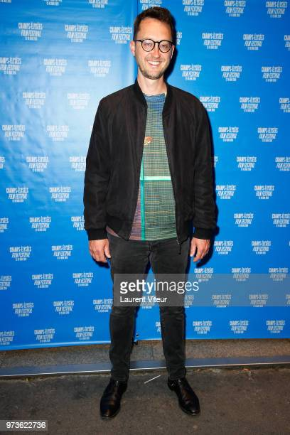 Director Matt Portefield attends the 7th Champs Elysees Film Festival at Cinema Le Lincoln on June 13 2018 in Paris France