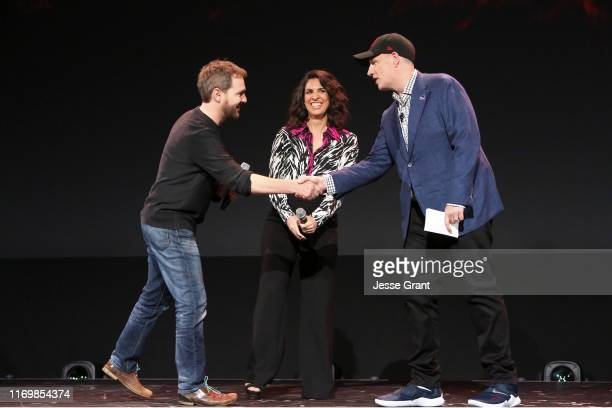 Director Matt Shakman and Head writer Jac Schaeffer of 'WandaVision' and President of Marvel Studios Kevin Feige took part today in the Disney+...