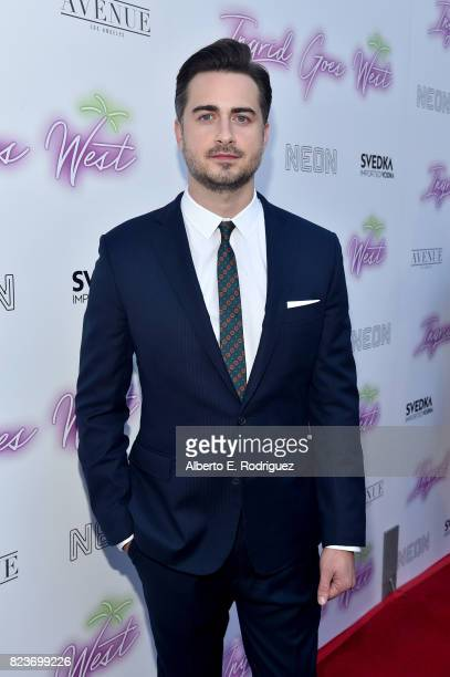"""Director Matt Spicer at the premiere of Neon's """"Ingrid Goes West"""" at ArcLight Hollywood on July 27, 2017 in Hollywood, California."""