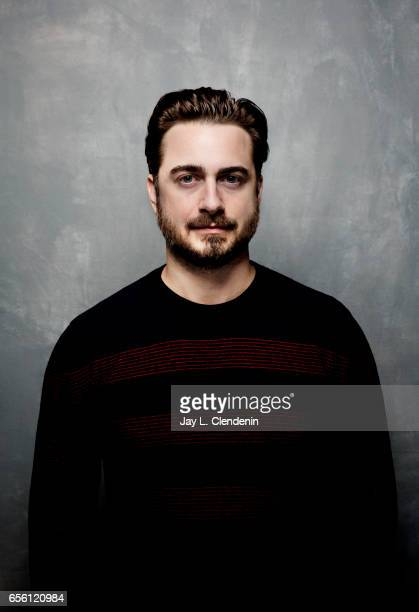 Director Matt Spicer from the film Ingrid Goes West is photographed at the 2017 Sundance Film Festival for Los Angeles Times on January 21 2017 in...