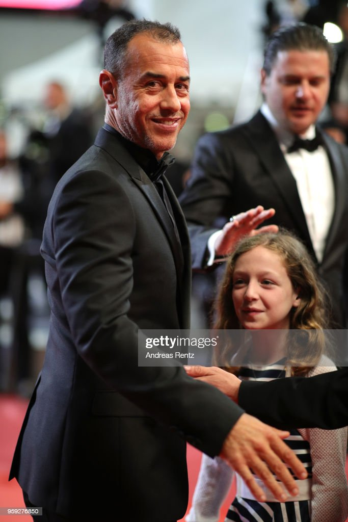 Director Matteo Garrone and actress Alida Baldari Calabria attend the screening of 'Dogman' during the 71st annual Cannes Film Festival at Palais des Festivals on May 16, 2018 in Cannes, France.