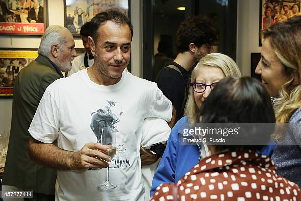 Director Matteo Garrone attends the Cocktail Party during the 9th Rome Film Festival at Casa del Cinema on October 15 2014 in Rome Italy