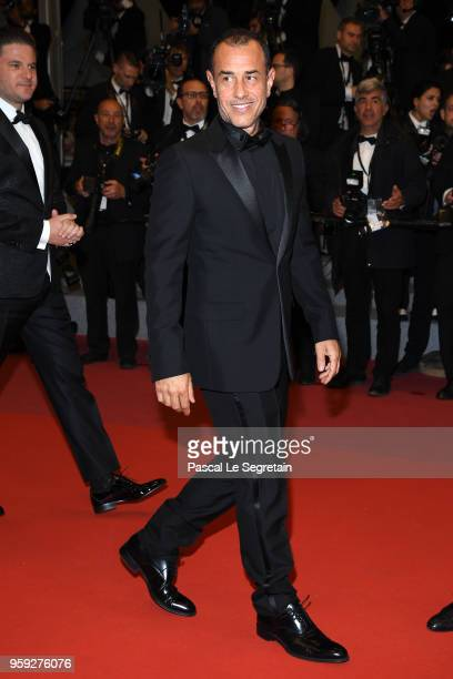 Director Matteo Garrone attends the screening of 'Dogman' during the 71st annual Cannes Film Festival at Palais des Festivals on May 16 2018 in...