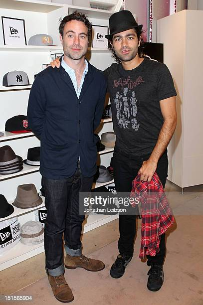 Director Matthew Cooke and Producer Adrian Grenier at Variety Studio presented by Moroccanoil on Day 1 at Holt Renfrew, Toronto during the 2012...
