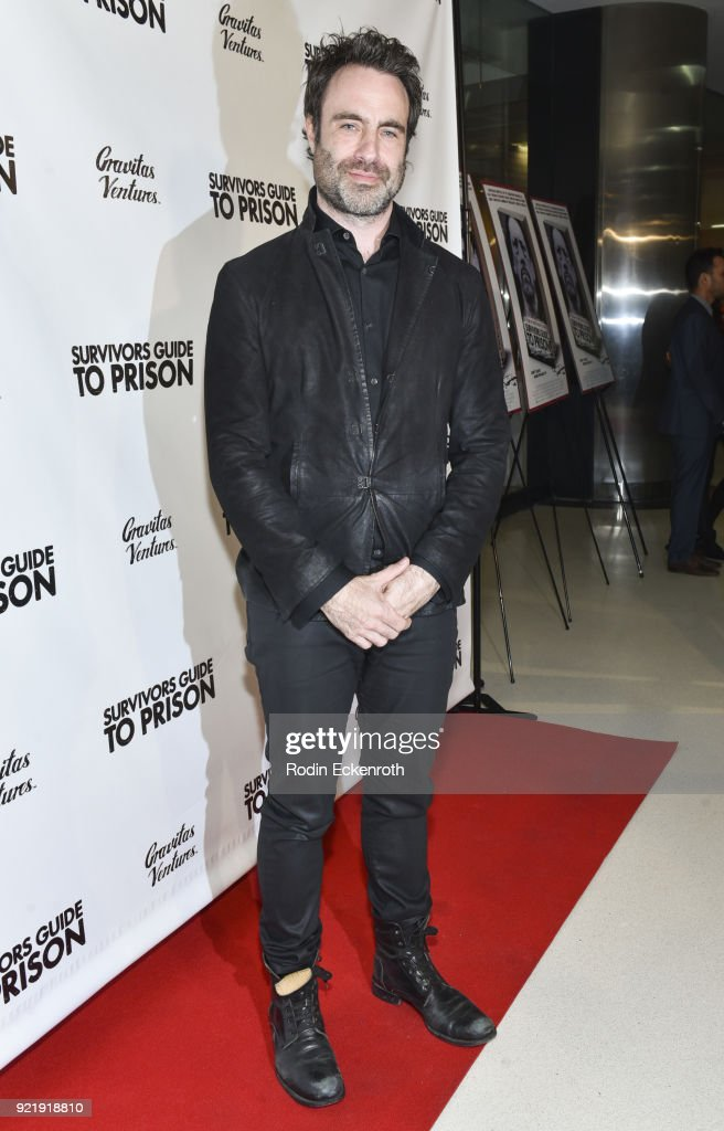 Director Matthew Cooke attends the premiere of Gravitas Pictures' 'Survivors Guide To Prison' at The Landmark on February 20, 2018 in Los Angeles, California.