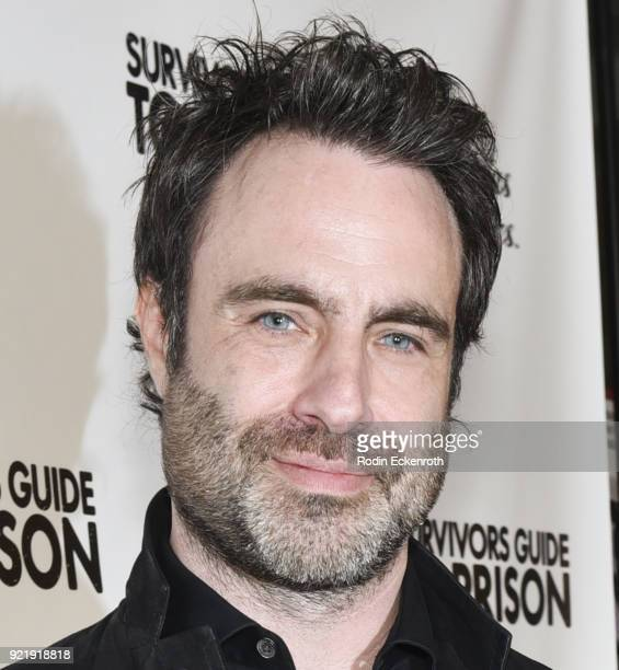 Director Matthew Cooke attends the premiere of Gravitas Pictures' 'Survivors Guide To Prison' at The Landmark on February 20 2018 in Los Angeles...