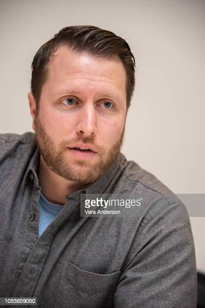 Director Matthew Heineman at the A Private War Press Conference at the Four Seasons Hotel on October 25 2018 in Beverly Hills California