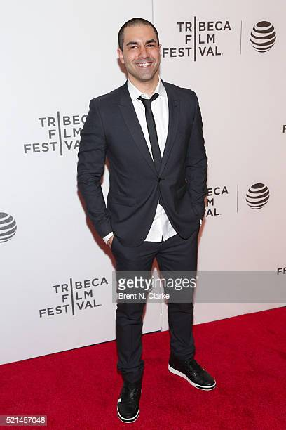 "Director Matthew Pizzano attends the Festival Hub Opening Night: ""Becoming: Bradley Theodore"" during the 2016 Tribeca Film Festival held at Spring..."