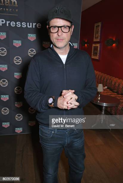 Director Matthew Vaughn attends the TAG Heuer Connected Modular 45 Kingsman Special Edition launch at the Ham Yard Hotel on June 28 2017 in London...