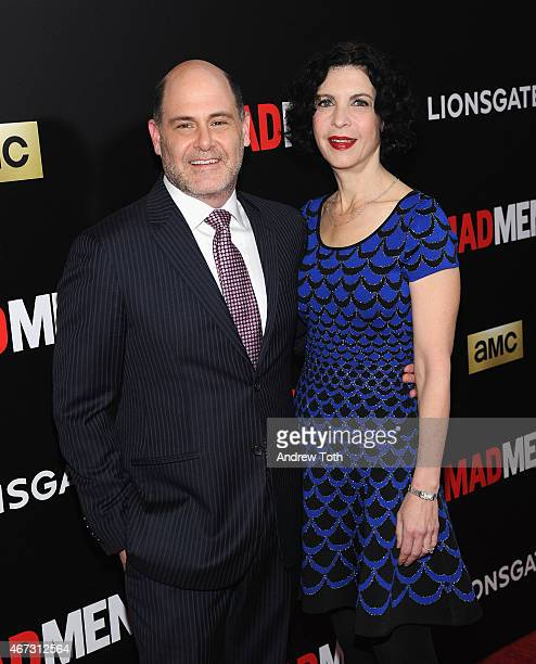 Director Matthew Weiner attends the 'Mad Men' New York special screening at The Museum of Modern Art on March 22 2015 in New York City