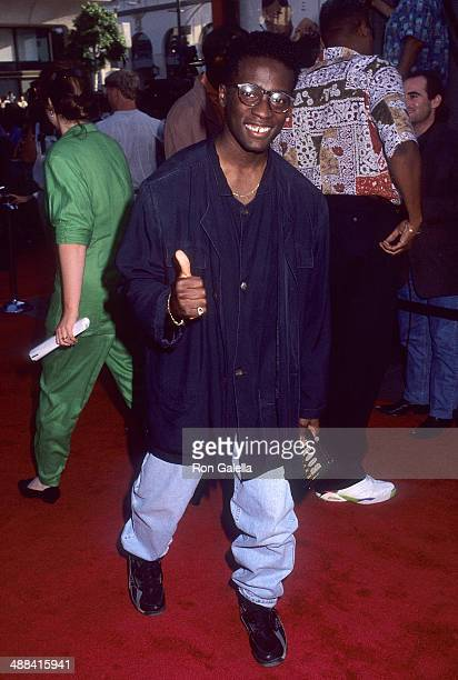 Director Matty Rich attends the 'Boomerang' Hollywood Premiere on June 28 1992 at the Mann's Chinese Theatre in Hollywood California