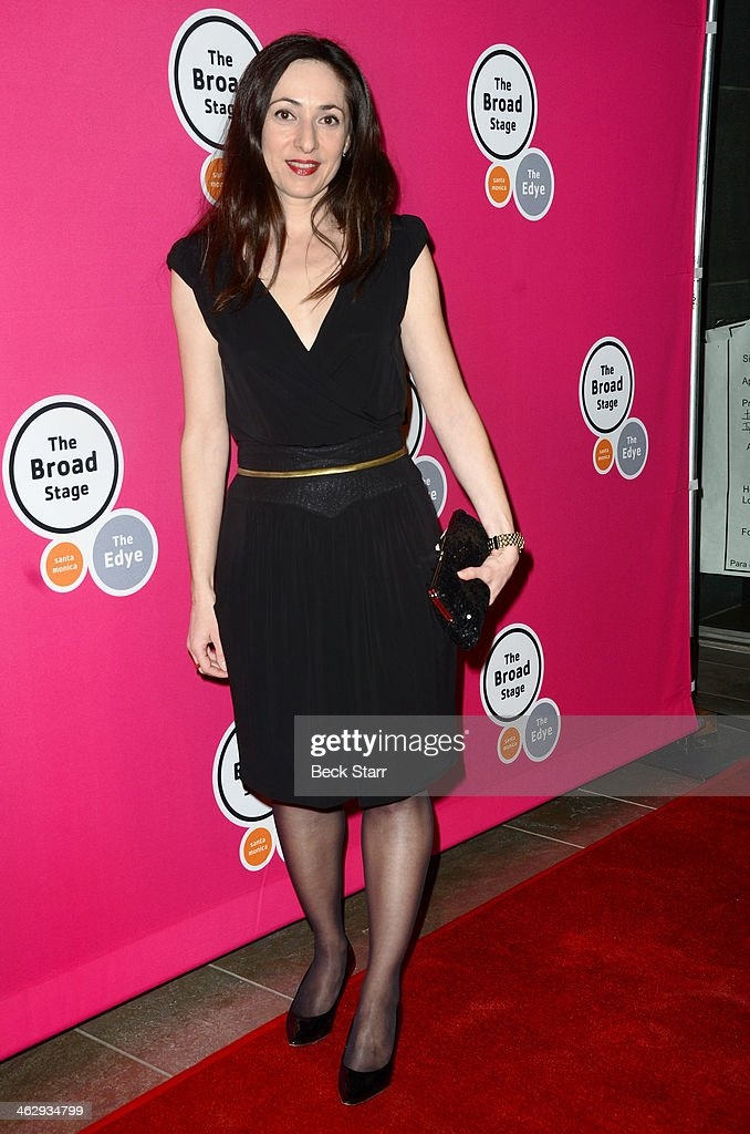 Director Maud Ferrari attends the opening night of 'An Iliad' at The Eli and Edythe Broad Stage on January 15, 2014 in Santa Monica, California.