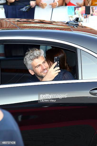 Director Max Joseph arrives at the 'We Are Your Friends' Premiere at Kinepolis on August 12 2015 in Lille France