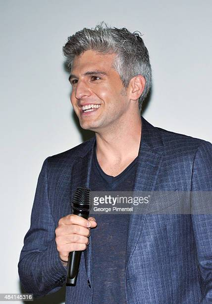 Director Max Joseph attends the Canadian Premiere of Warner Bros Pictures We Are Your Friends at Scotiabank Theatre on August 14 2015 in Toronto...