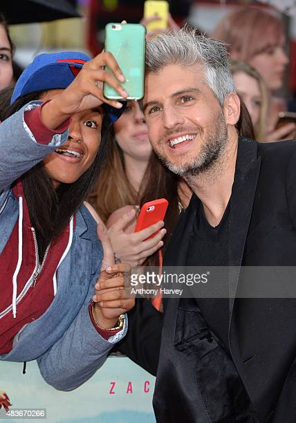 Director Max Joseph attends the European Premiere of We Are Your Friends at Ritzy Brixton on August 11 2015 in London England